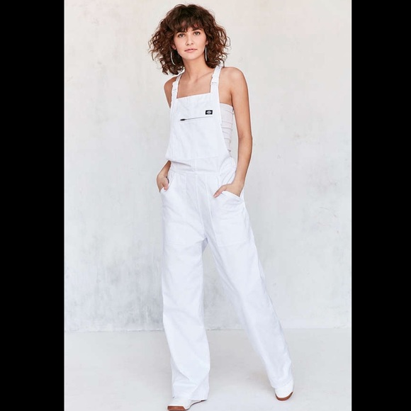 big discount sale rational construction classic chic Dickies x Urban Outfitters NWT White Overalls S NWT